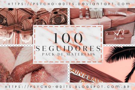 PACK DE 100 SEGUIDORES @ PSYCHO EDITS by RippedHisHeart