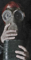 gas mask by pepsipupsi