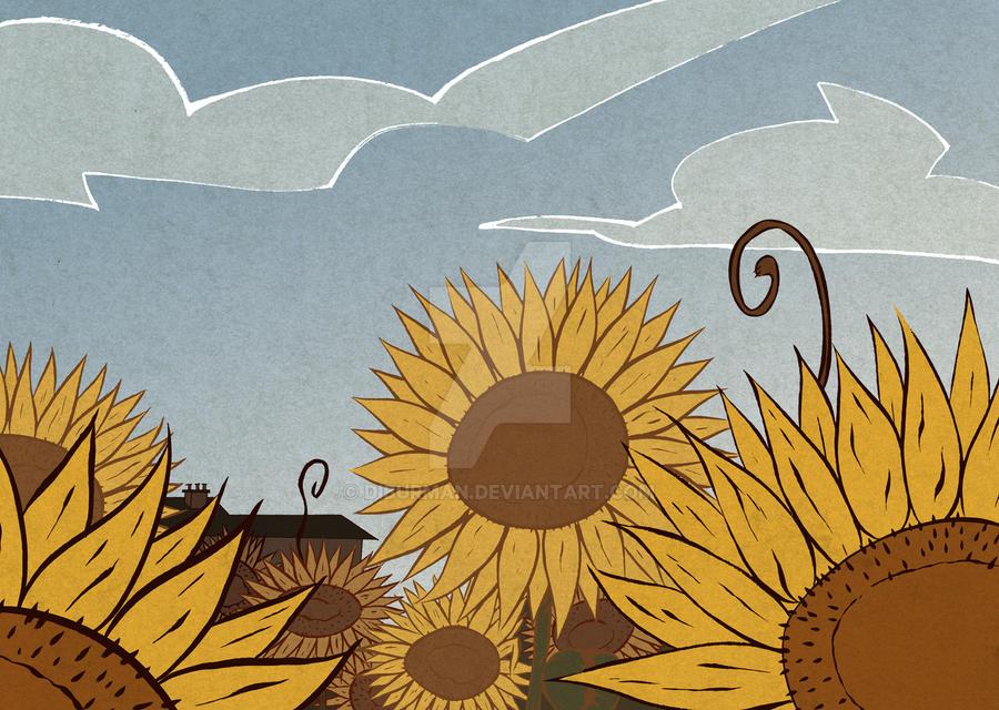 Girasoles - Sunflowers by diburman