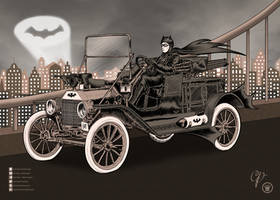 Vintage Batmobile