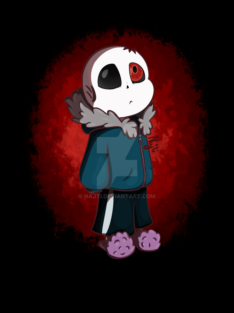 Horrortale Sans by Najti on DeviantArt