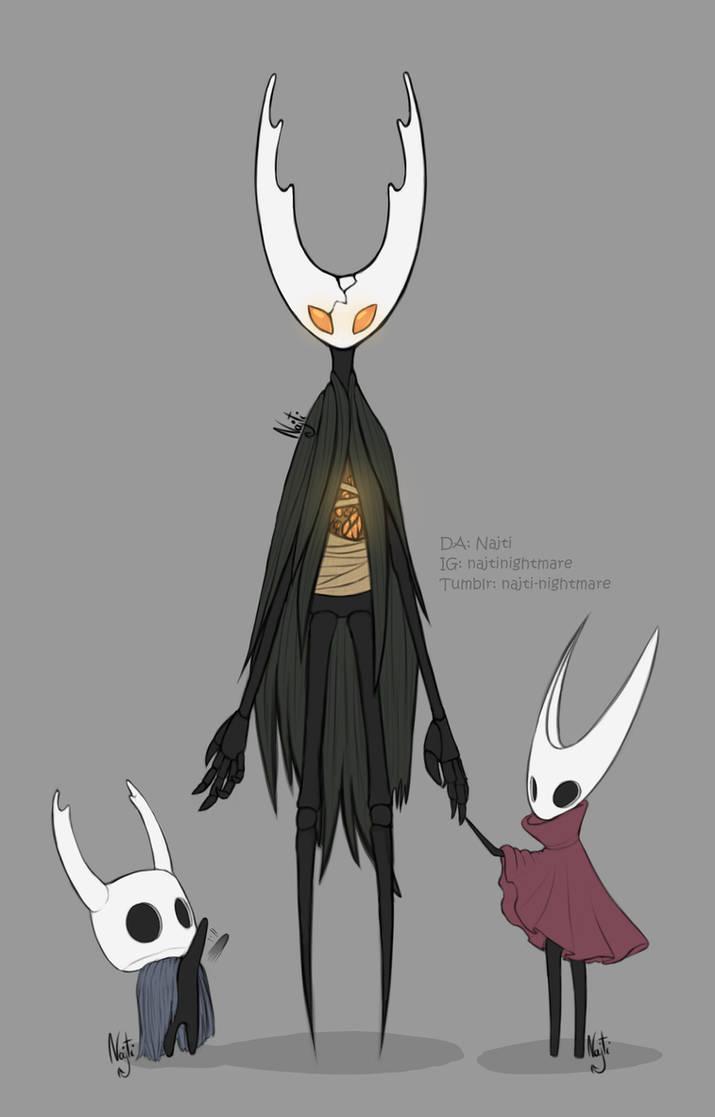 Hollow Knight Fanart Colored Sketch Au By Najti On