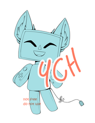 [YCH] Switch time! OPEN + P2U Base!