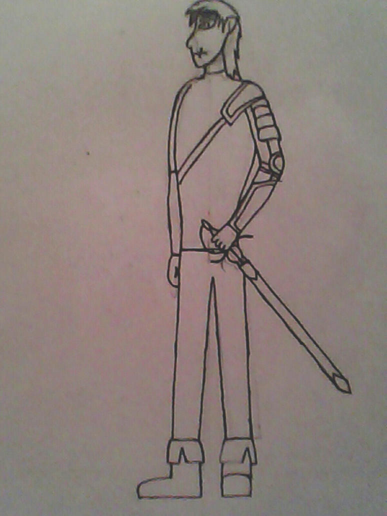Juan Rocha DLC character for Skullgirls Sketch by Warrioroflight012