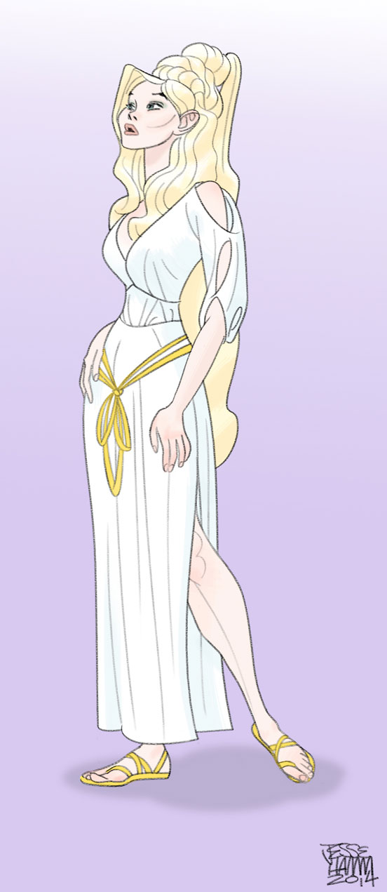 Aphrodite by Sirspamdalot