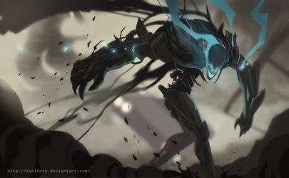 nameless beast by albino-Z