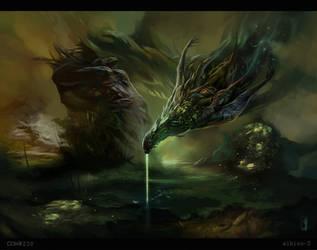 The Swamp God by albino-Z