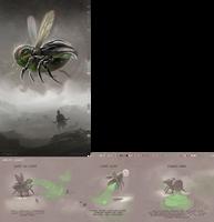 Big PHAT Desert Silverfly by albino-Z