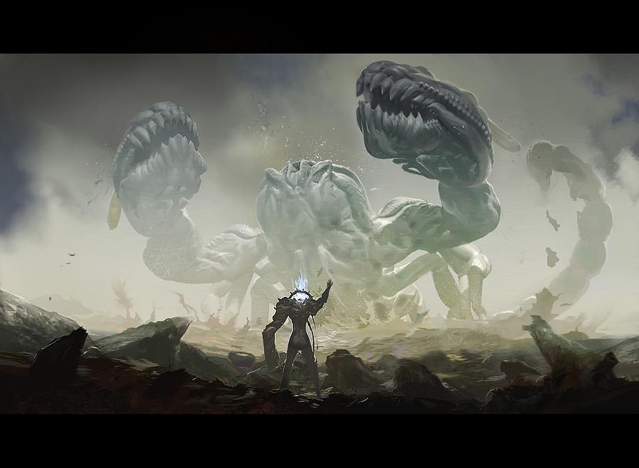 CA Team Challenge_creature concept_001 by albino-Z