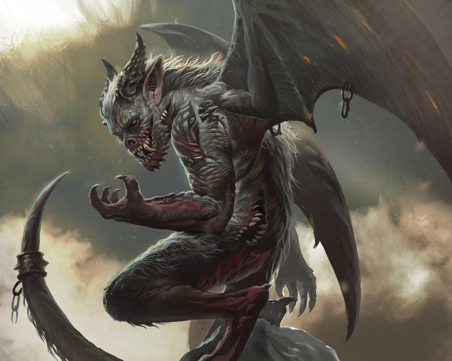 Blood Demon By Albino Z On DeviantArt