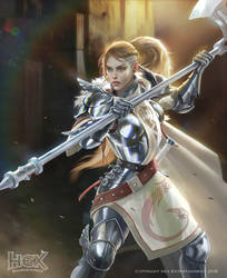 Herofall - Marshal Josephina by albino-Z