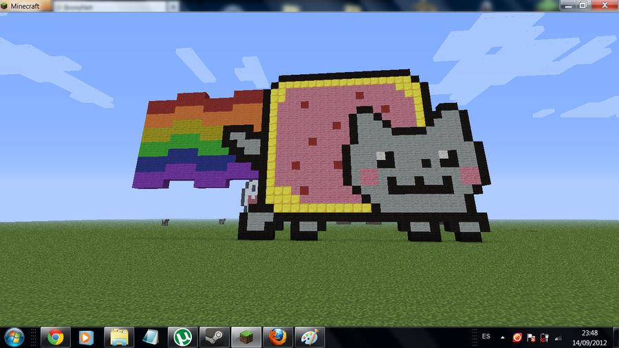 Nyan Cat Pixel Art By Seba2298 On Deviantart