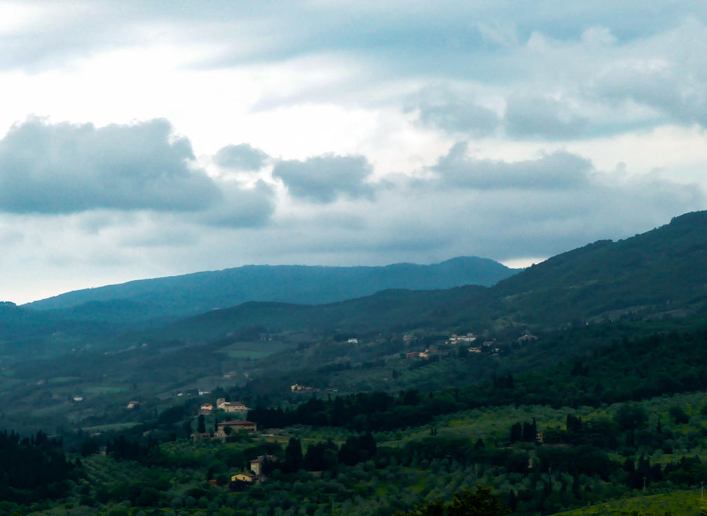 Hills of Florence 5 by Alphasnivylove