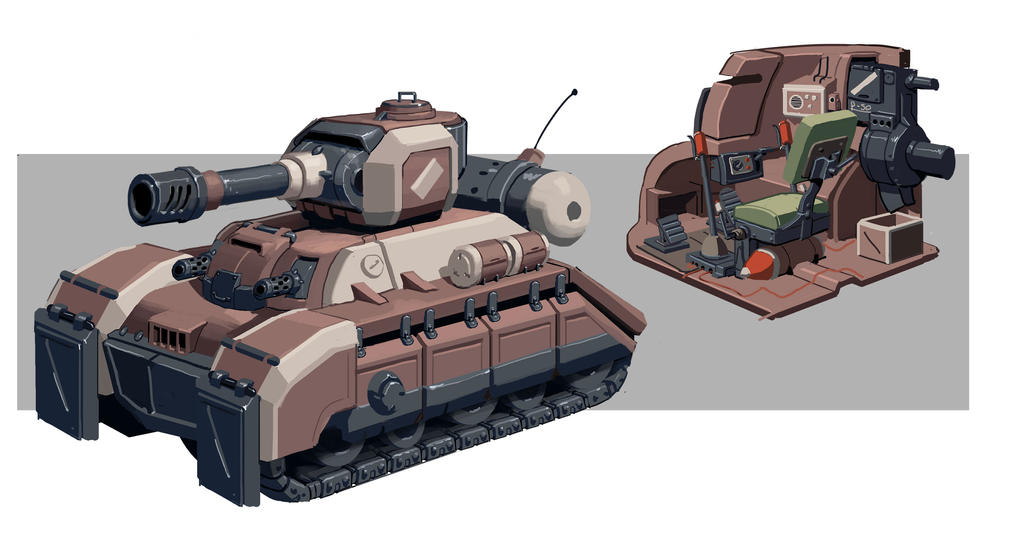 Tanks Concept by awesomeplex