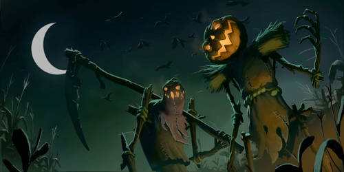 Spooky Scary Scarecrows