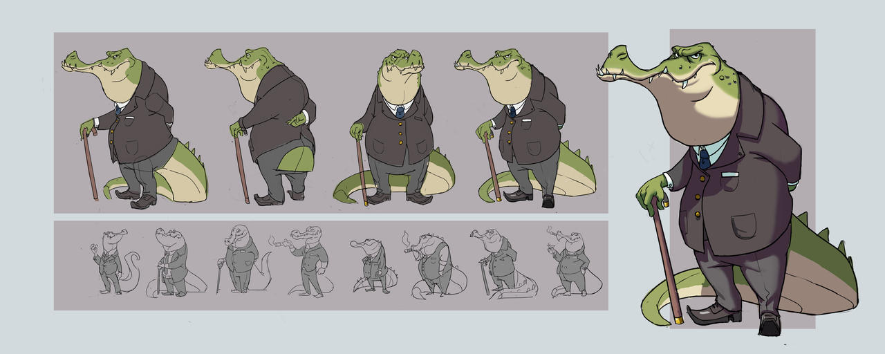 Crocodile by awesomeplex