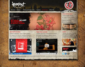 Tatto Website