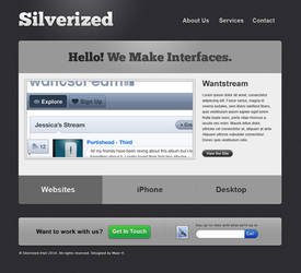 Silverized Template