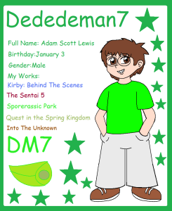 Dededeman7's Profile Picture
