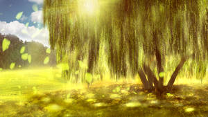 Commission #4: Under the Willow Tree