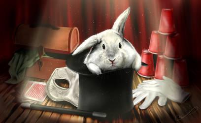 Commission #15: White Rabbit