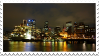 City at night - stamp by Martith