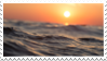 Sea sunset - stamp by Martith