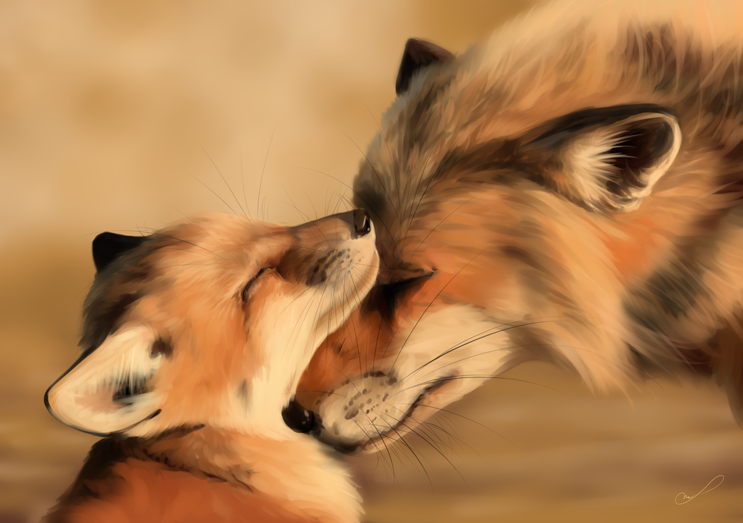I love you! [+speedpaint] by Martith