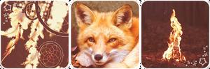 Fox fire deco divider