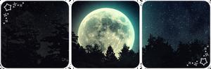 Moon deco divider