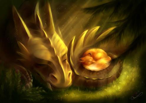 Tiny nap by Martith