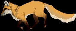 Red fox pixel [F2U] + P2U BASE