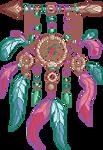 Pastel dreamcatcher [F2U] by Martith
