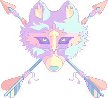 Pastel Native Wolf [F2U]