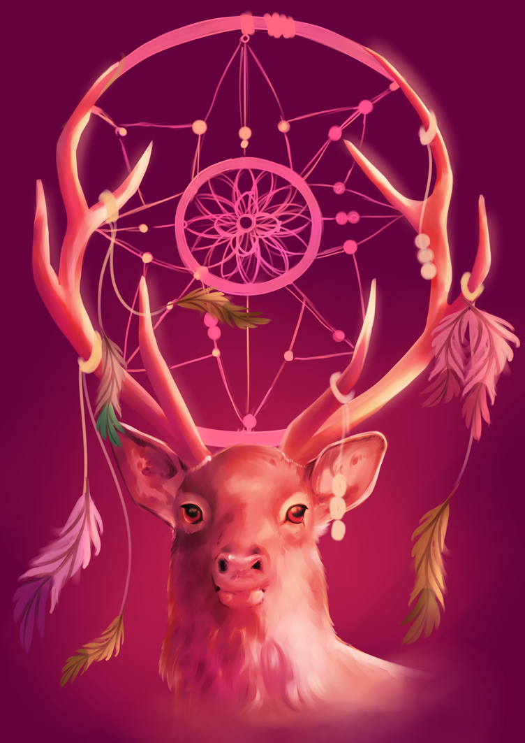 Native antlers by Martith