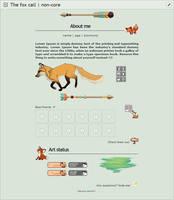 The fox call | F2U Non Core by Martith