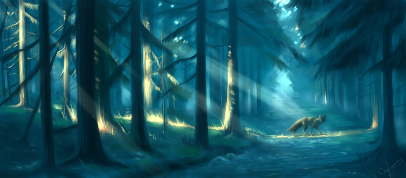 Enchanted path by Martith