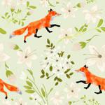 Jasmine fox pattern