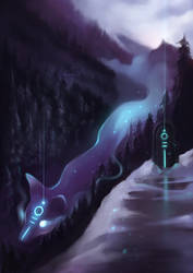 Mysterious spirit - Foxtober 2018