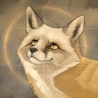 Look up to a fox | Speedpaint