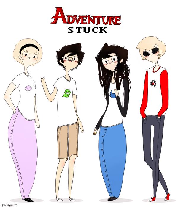 adventurestuck by stickyfruit