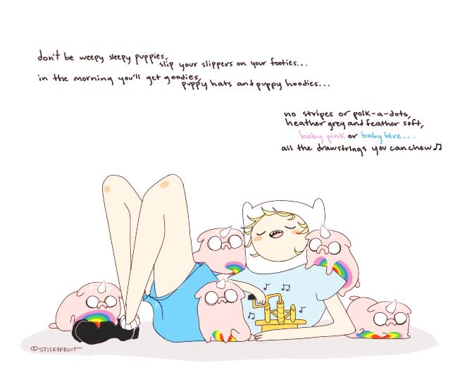nap time by stickyfruit