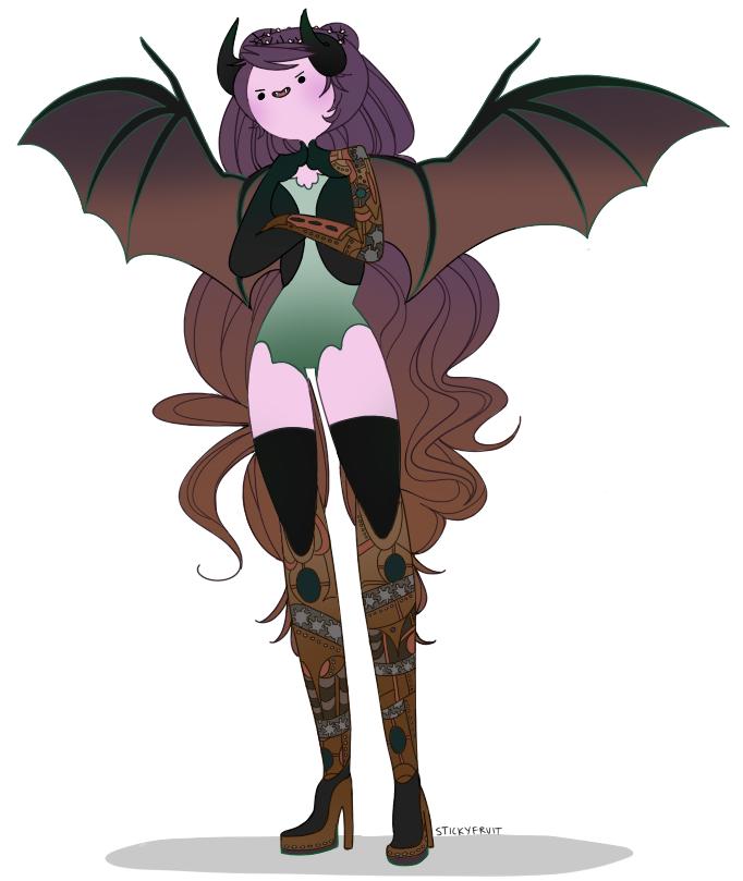 clockwork dragon princess by stickyfruit