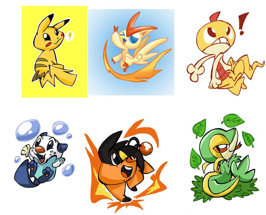 Pokemon 1 To 649 Images | Pokemon Images