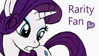 Rarity fan stamp by Joakaha