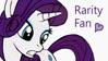 Rarity fan stamp by Joakaha