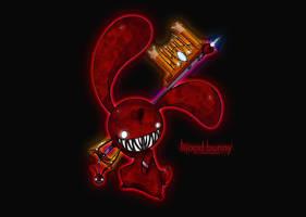 ...Blood bunny wallpaper... by Joakaha