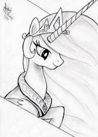 MLP FIM - Princess celestia by Joakaha