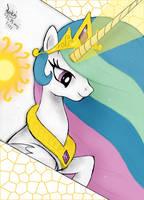 MLP FIM - Princess Celestia C by Joakaha