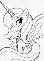 MLP FIM - Princess luna 2 by Joakaha